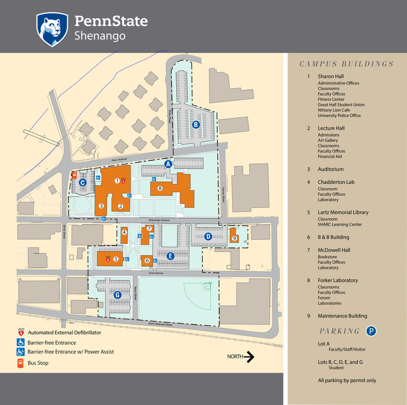 Campus Map – Map World Financial Center