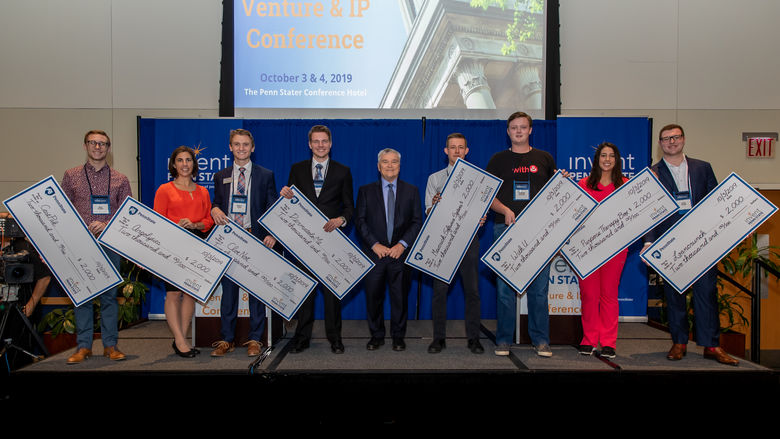Eight student startups showcased their innovations